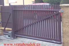 samonosná brána celohliníková (3)