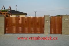 samonosná brána s hliníkovou výplní (11)
