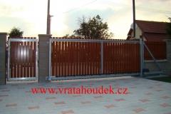 samonosná brána s hliníkovou výplní (12)