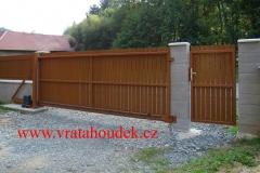 samonosná brána s hliníkovou výplní (13)