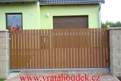 samonosná brána s hliníkovou výplní (4)