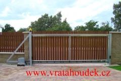 samonosná brána s hliníkovou výplní (5)